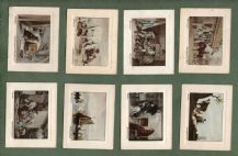 Tobacco Cigarette cards set  famous painting, Art Treasures 1926
